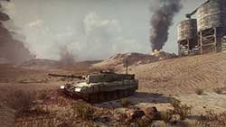 Armored Warfare - нефте хранилище