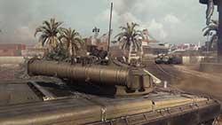 Armored Warfare - вид из танка
