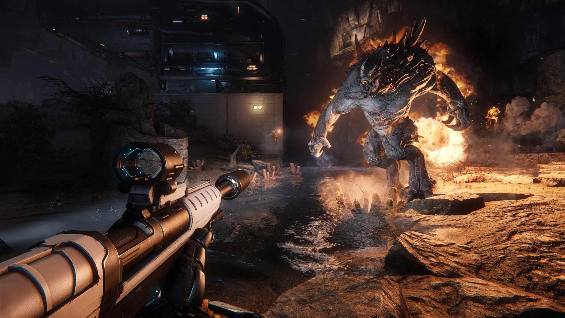 Скриншот к игре Evolve