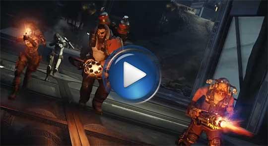 Официальный видео трейлер к игре Evolve