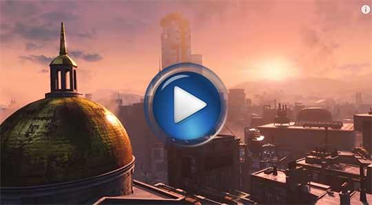 Официальный видео трейлер к игре Fallout 4