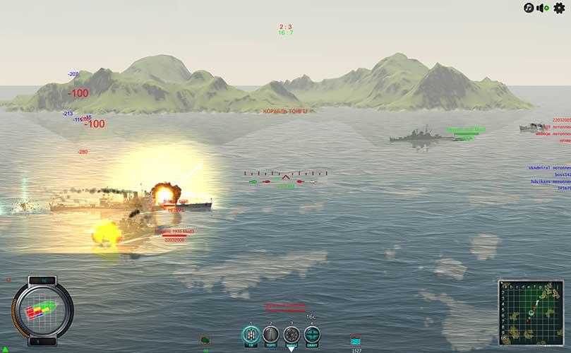 Скриншот к игре Главный Калибр