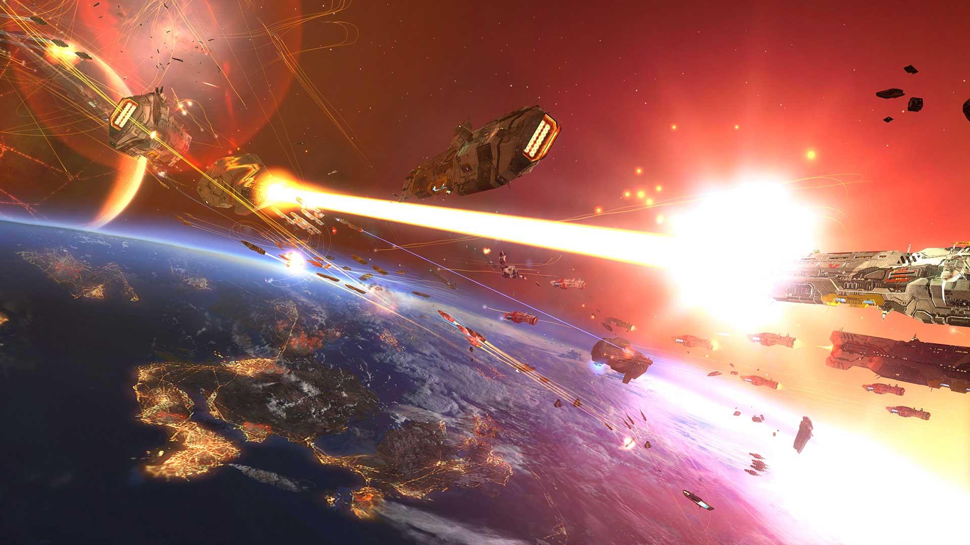 Скриншот к игре Homeworld 2