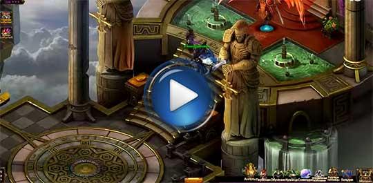 Официальный видео трейлер к игре Лига Ангелов на русском