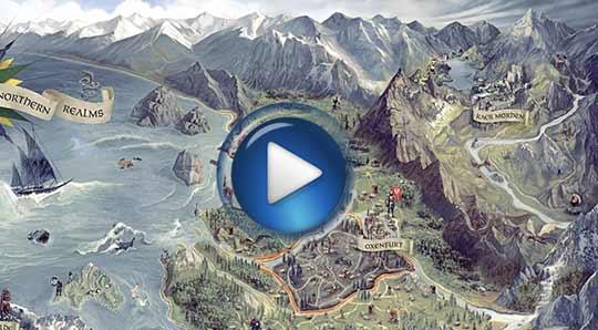 Официальный видео трейлер к игре The Witcher 3: Wild Hunt