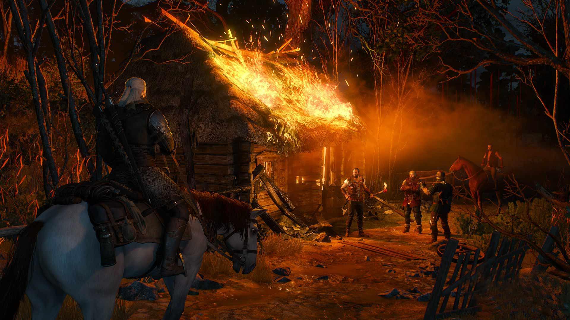 Скриншот к игре Ведьмак 3: Охота