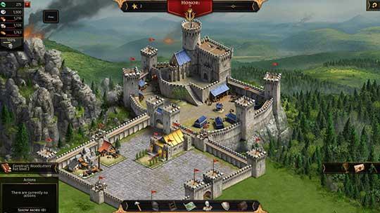 скриншоты к игре Legends of Honor
