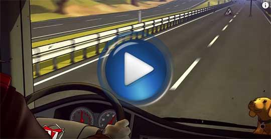 Официальный видео трейлер к игре Truck Nation