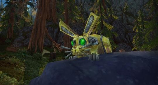 Прирученный Гномом-охотником механизм в World of Warcraft