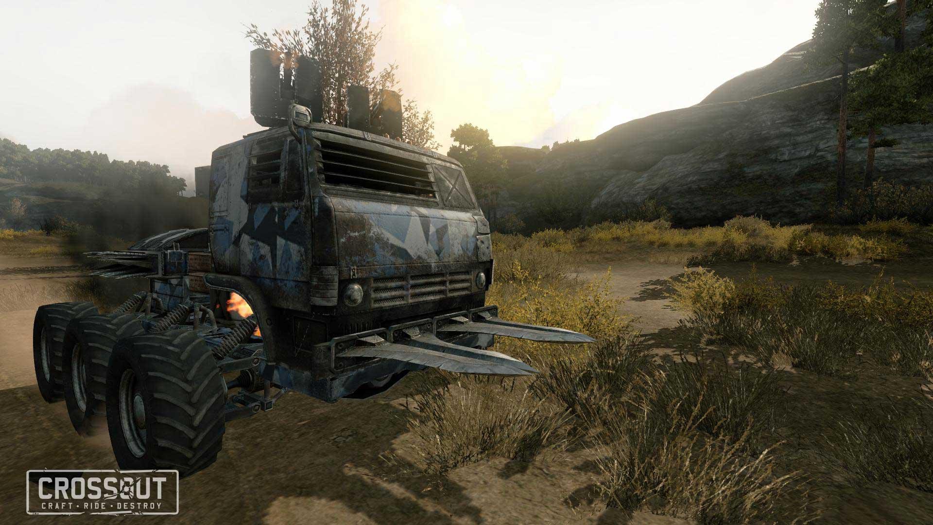 Скриншот к игре Crossout