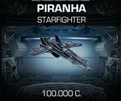 Корабль Piranha