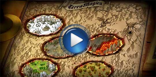 Официальный видео трейлер к игре Терра Магика