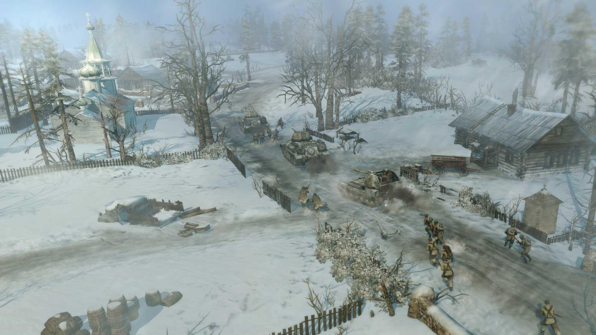 Скриншот к игре Company of Heroes 2