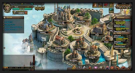 скриншоты игры Битва Героев