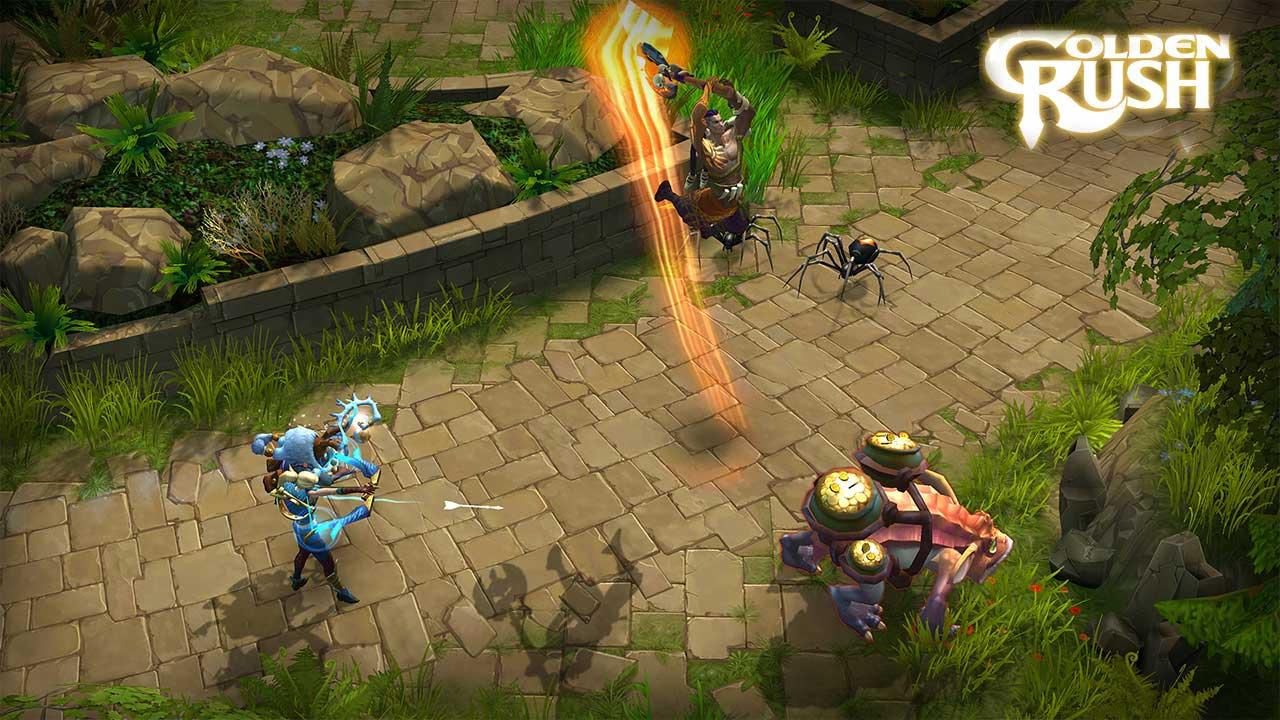 Скриншот к игре Golden Rush