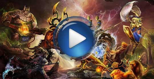 Официальный видео трейлер к игре Strife