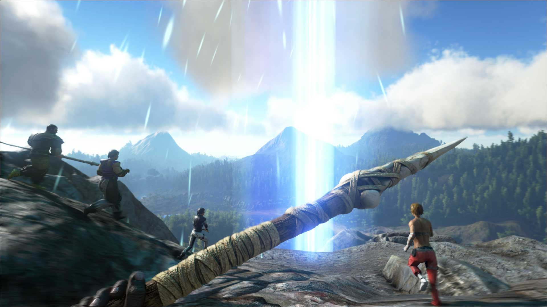 Скриншоты к игре ARK: Survival Evolved