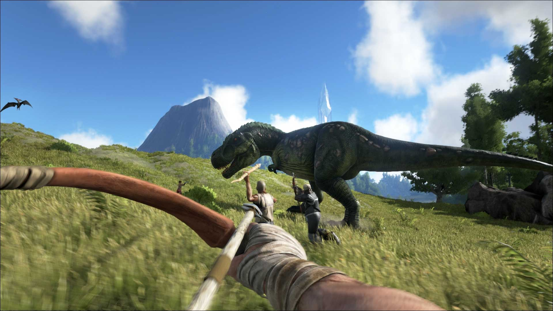 Скриншот к игре ARK: Survival Evolved