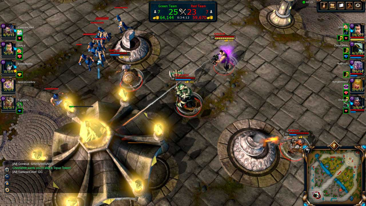 Скриншот к игре Battle for Graxia