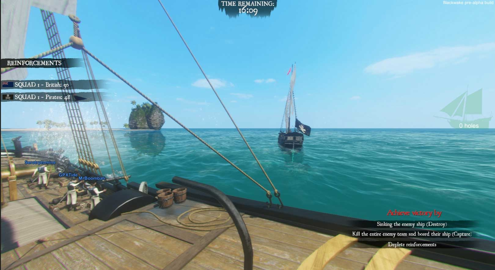 Скриншот к игре Blackwake