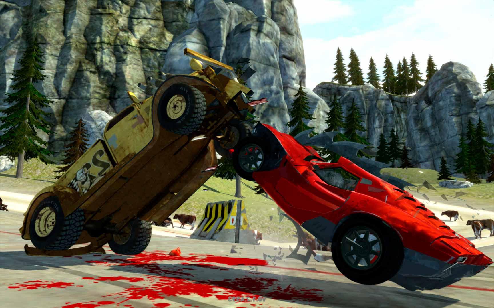 Скриншот к игре Carmageddon