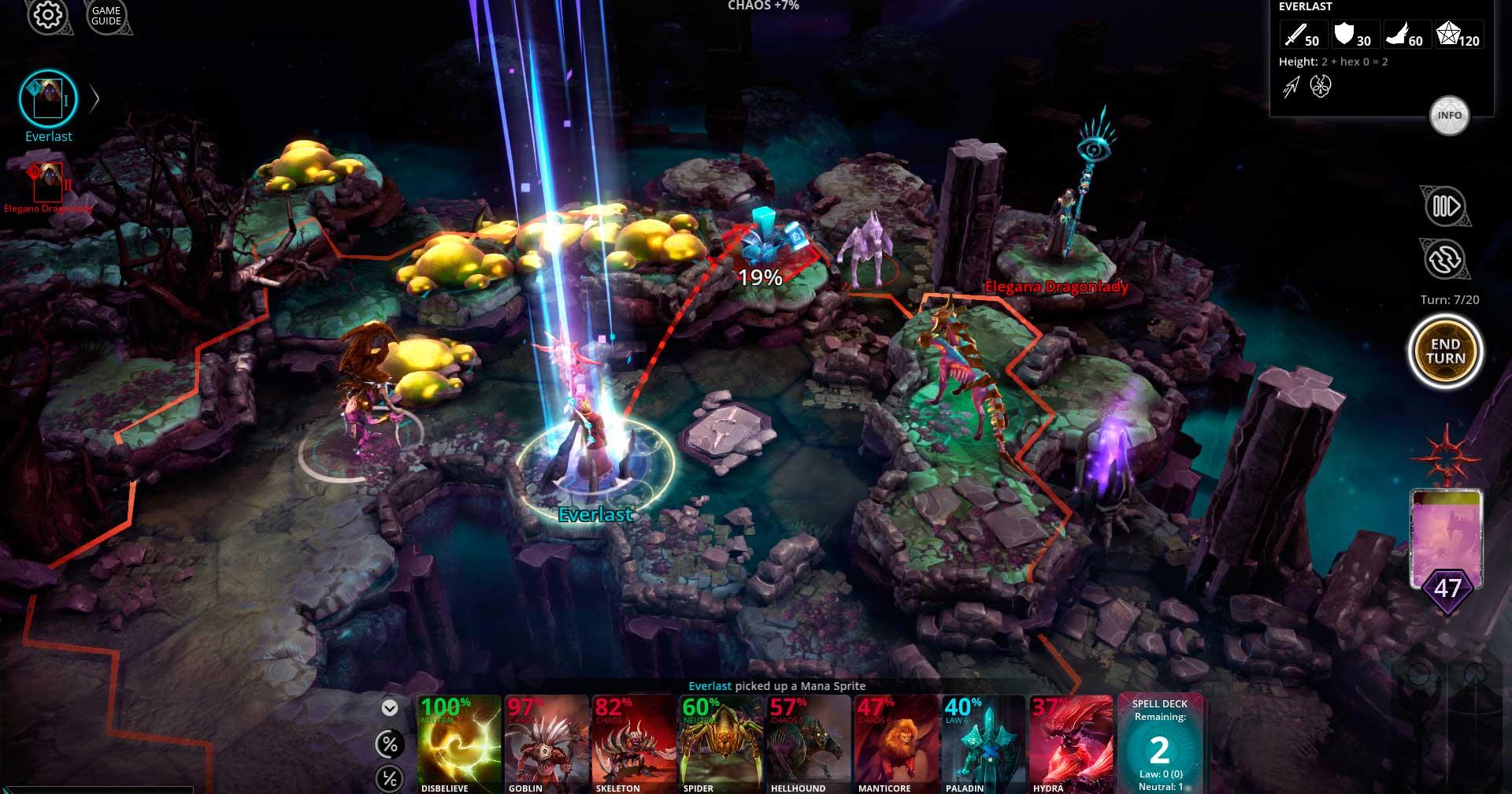 Скриншот к игре Chaos Reborn