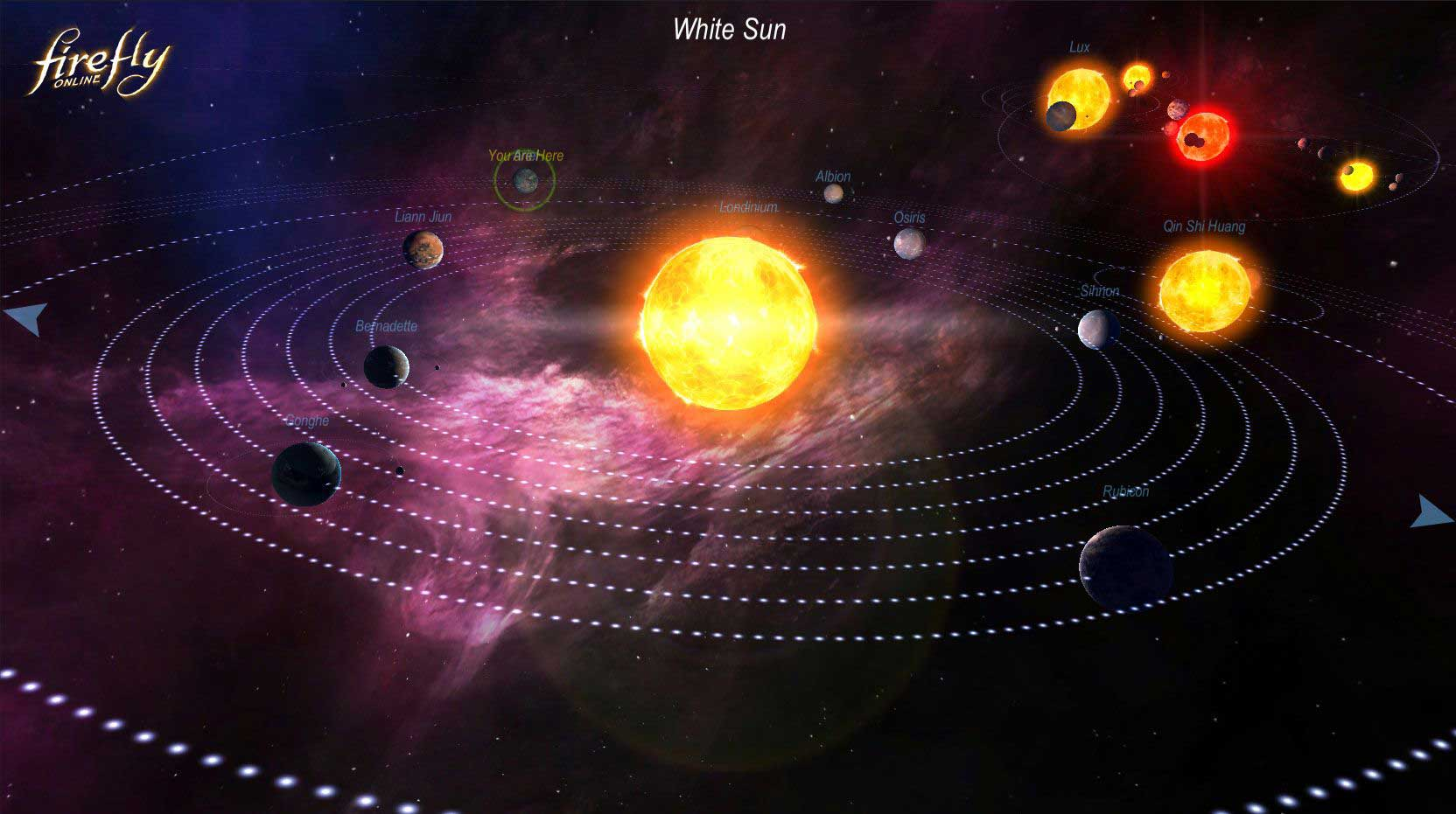 Скриншот к игре Firefly Online