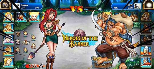 скриншоты игры Heroes of the Banner