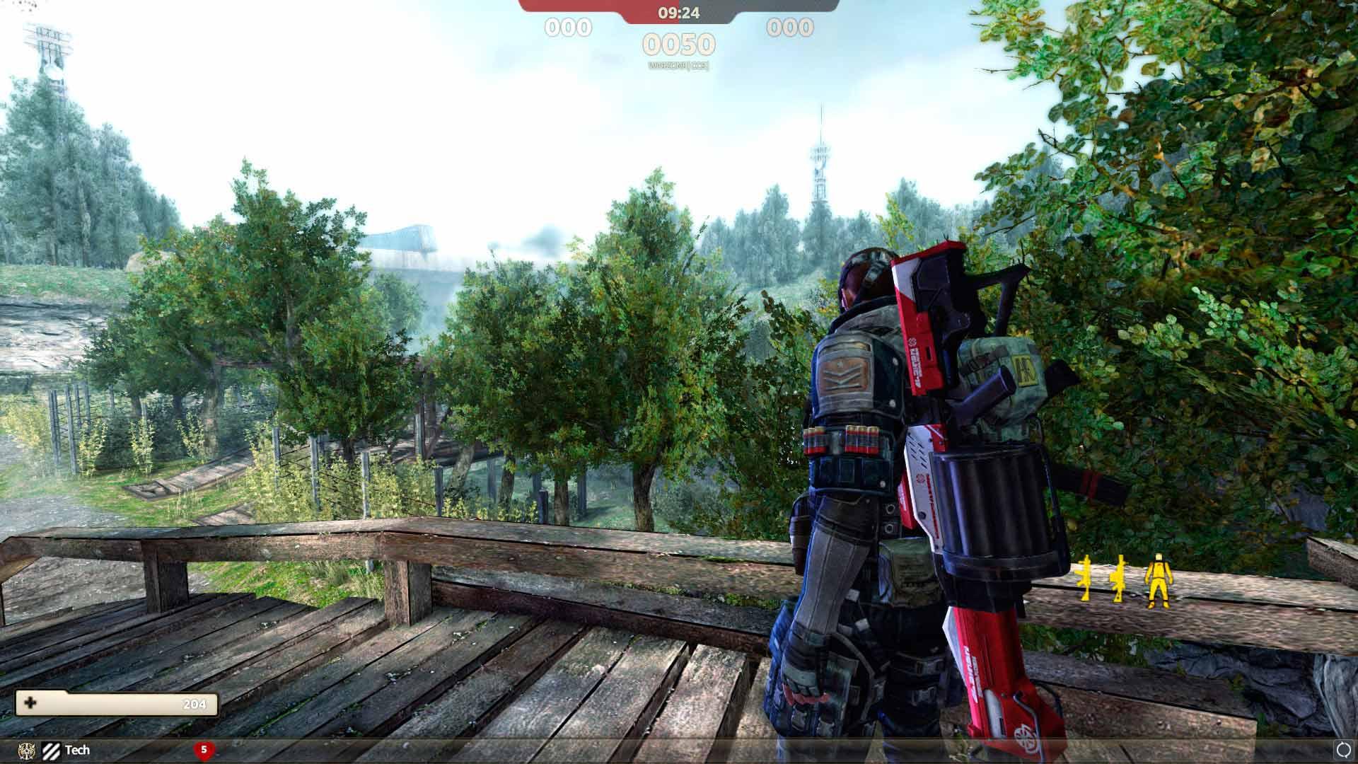 Скриншот к игре Hounds: The Last Hop