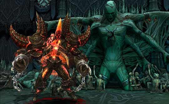 скриншоты игры Devilian