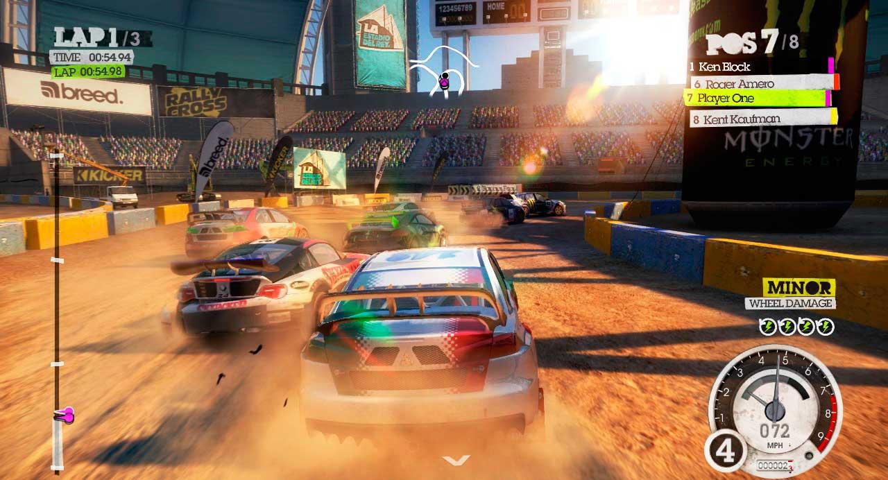 Скриншот к игре Dirty Rally