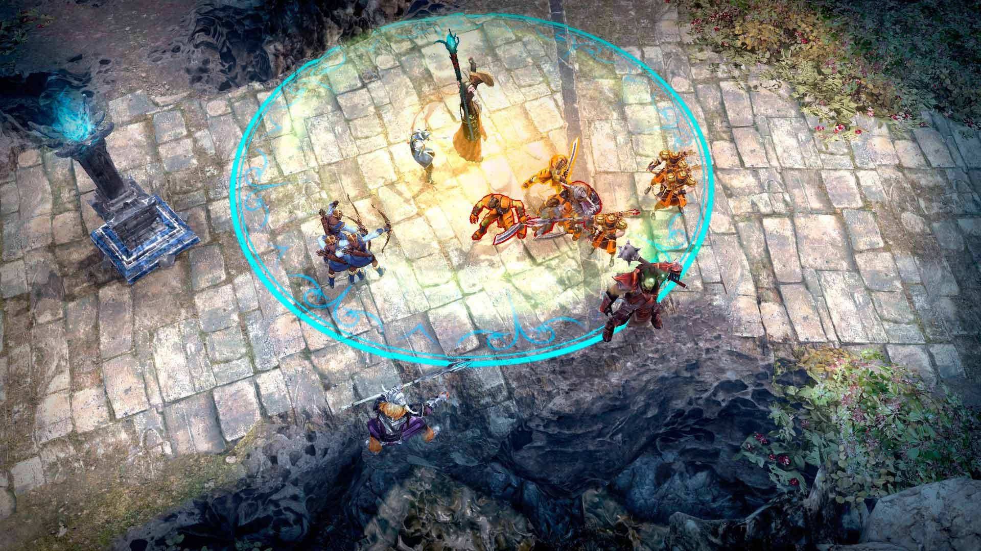 Скриншот к игре Guardians of Middle