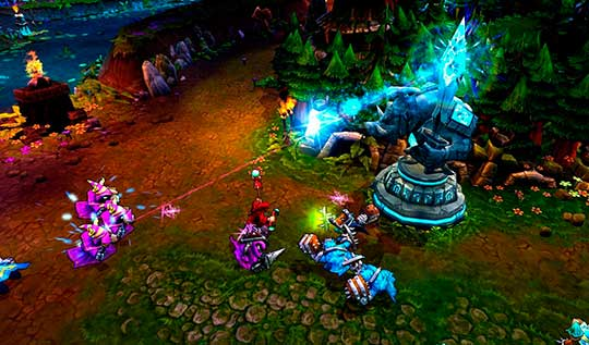 скриншоты к игре Лига Легенд