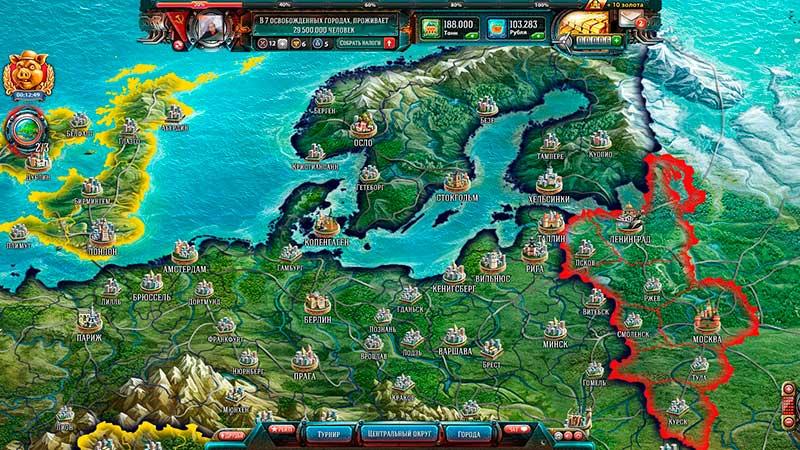 Скриншот к игре Освобождение Европы