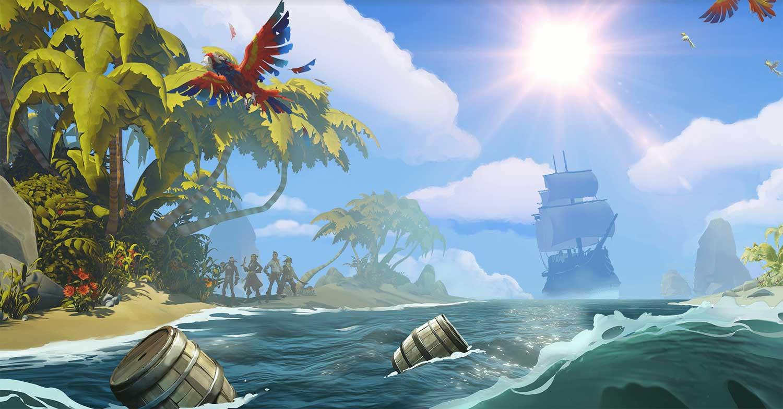 Sea of Thieves – Обзор игры про пиратов, отзывы, новости.