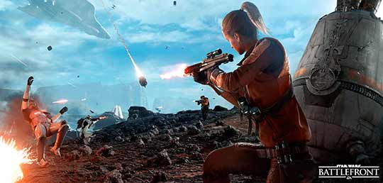скриншоты Star Wars: Battlefront 2015
