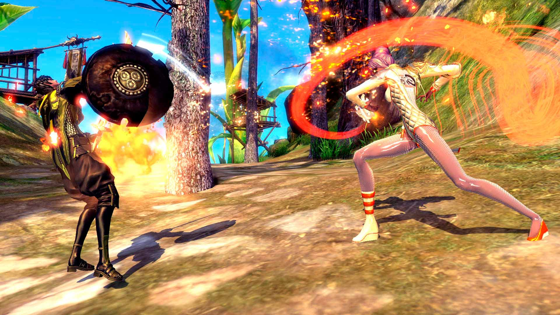 Скриншот к игре Blade and Soul