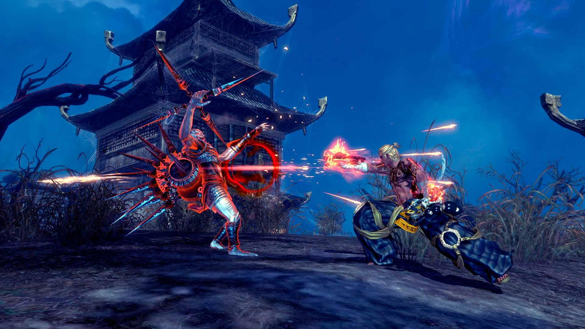 Скриншоты к игре Blade and Soul