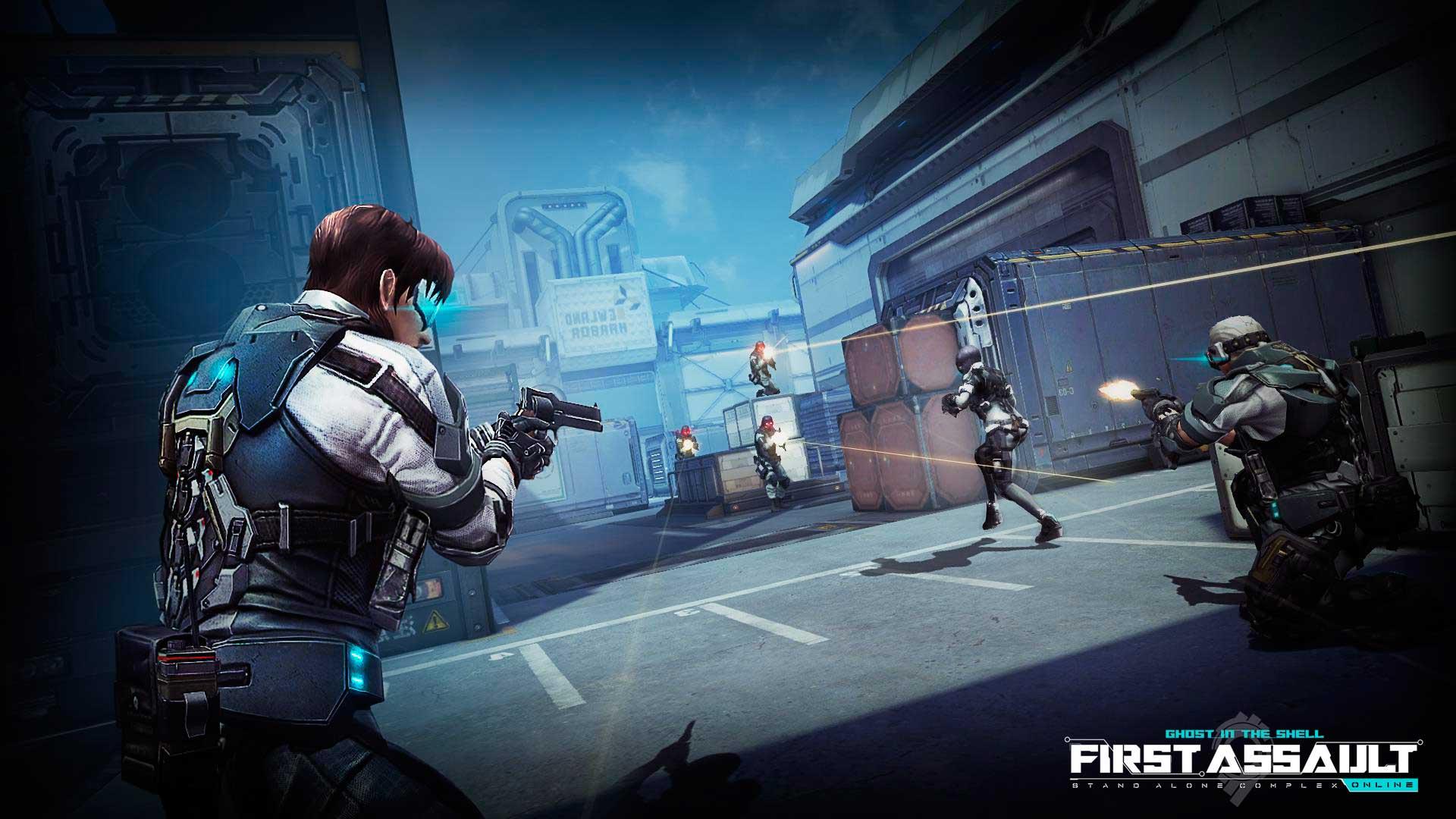 Скриншот к игре First Assault