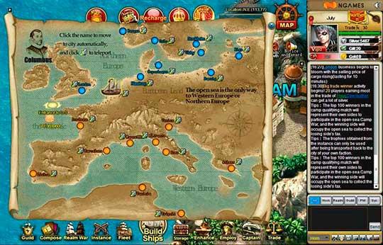 скриншоты Grand Voyage