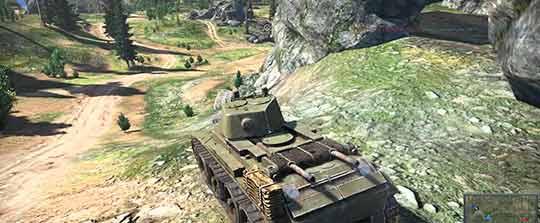 War Thunder: режим танкового симулятора