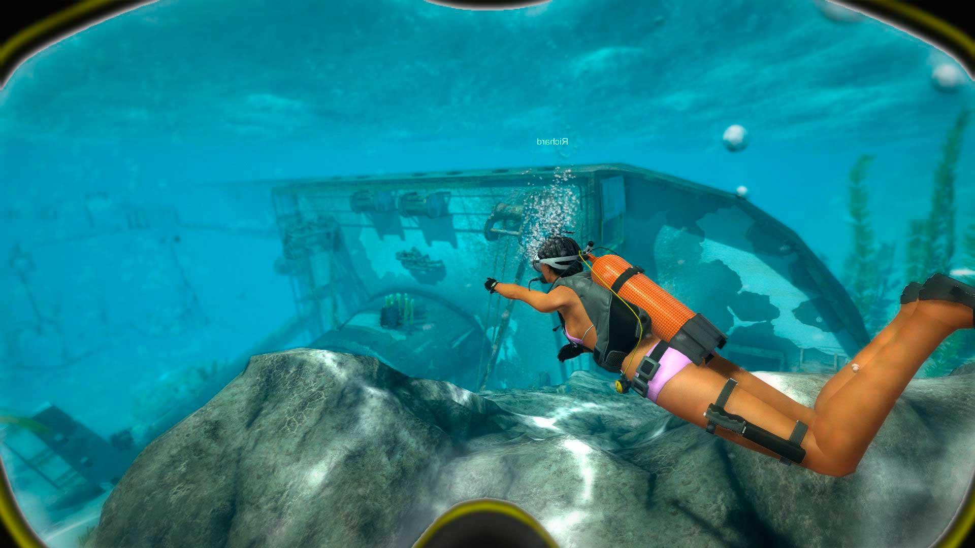Скриншот к игре World of Diving