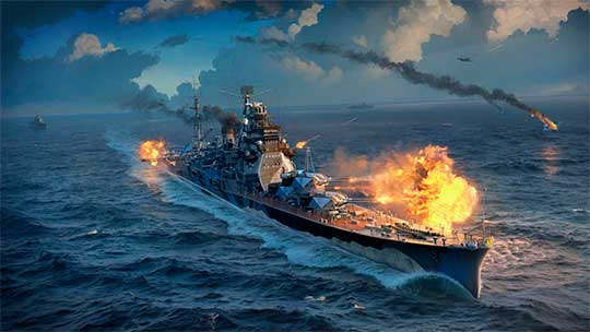 скриншоты World of Warships HD