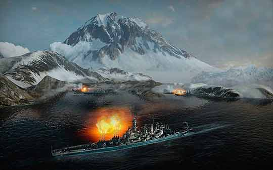 World of Warships режим «Командные бои»