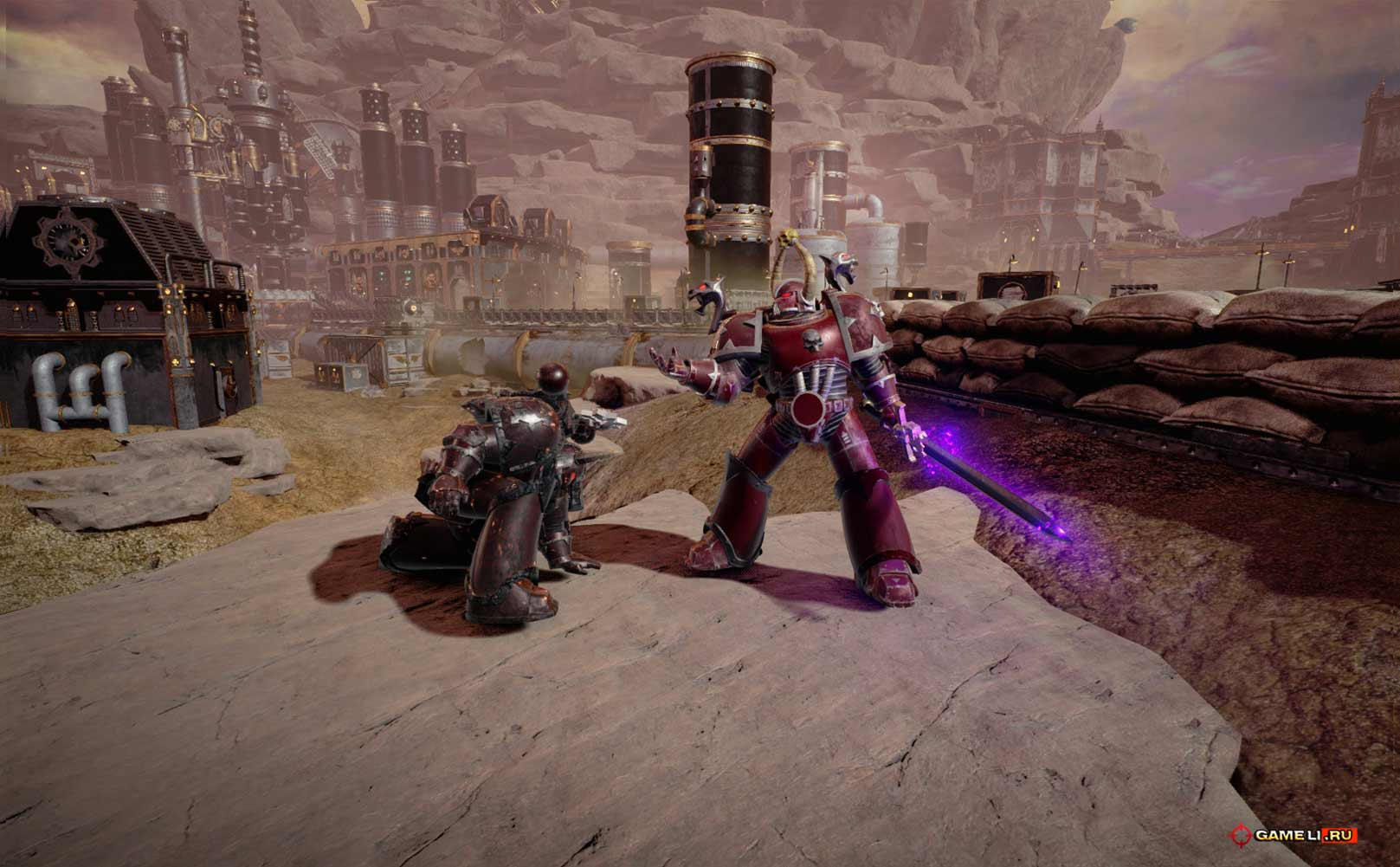 Скриншот к игре Warhammer 40000