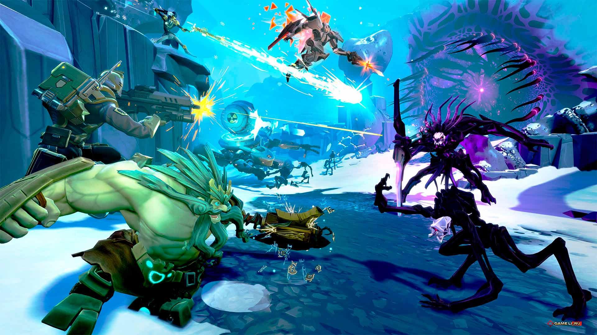 Скриншот к игре Battleborn