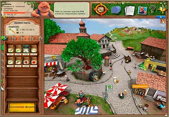 скриншоты Моя деревня (My Free Farm)
