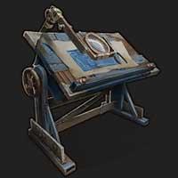 Rust Experimental стол