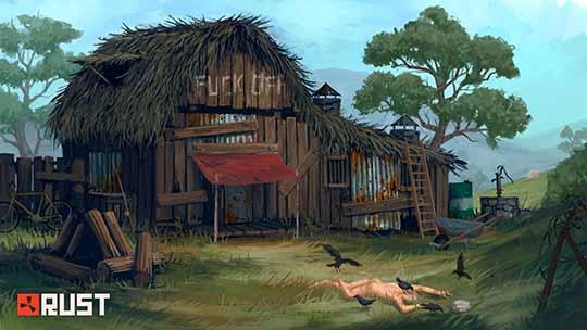 дом в игре Rust