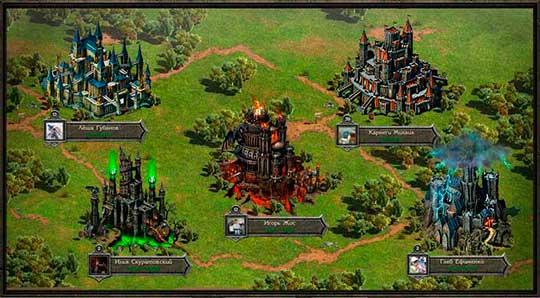 Войны престолов - Замки
